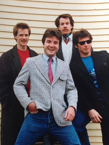 1988 New Hampshire<br>Dann, James, Toby and Pete